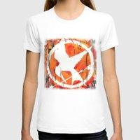 mockingjay T-shirts featuring The Mockingjay by Trinity Bennett