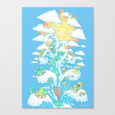 Tower of Fable Canvas Print