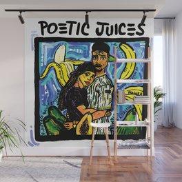 POETIC JUICES Wall Mural