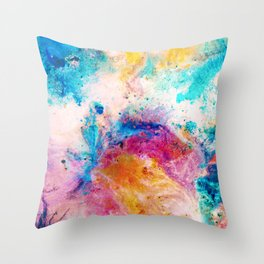 Slosh Throw Pillow