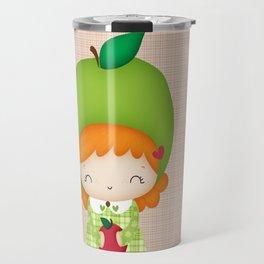 Mademoiselle Pomme Travel Mug