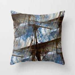 Sail away? Throw Pillow