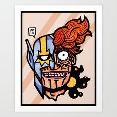 orion's big bang Art Print