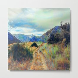 Fall nature landscape photography Metal Print