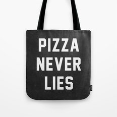Pizza Never Lies Tote Bag