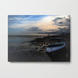 Spring Tide in September Metal Print
