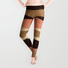 Harar in Peach Multi Leggings
