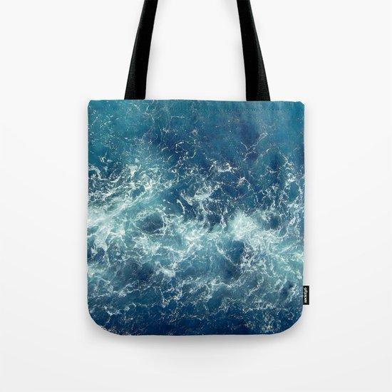 Sea splashes Tote Bag