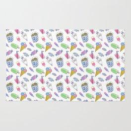 Birthday party candy art Rug