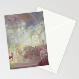 Alfons Mucha - The Holy Mount Athos (1926) Stationery Cards