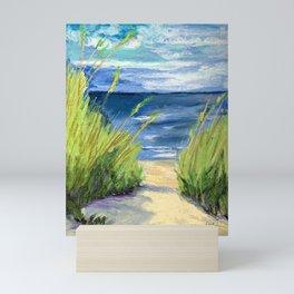 Sea Oats Mini Art Print