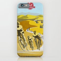 Strade Bianche retro cycling classic art Slim Case iPhone 6s