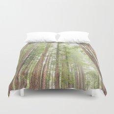 Giant Redwoods Duvet Cover