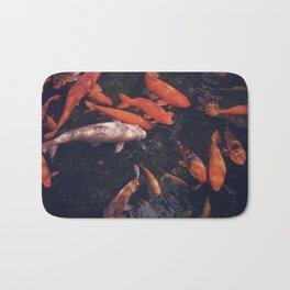 Temple Koi Fish Bath Mat