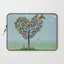 Bird in love Laptop Sleeve