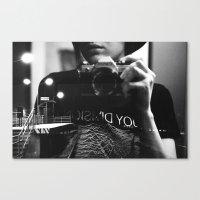 joy division Canvas Prints featuring Joy Division by Birgit Suitsu