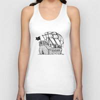 pirate ship Tank Tops featuring Pirate Ship by Addison Karl