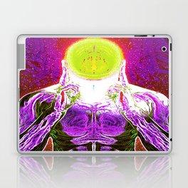 MIND #2 Psychedelic Meditation Vibrant Ethereal Design Laptop & iPad Skin