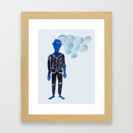 Get out / Come back Framed Art Print