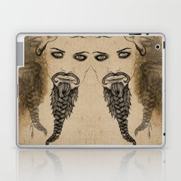 The Bearded Lady Olga  Laptop & iPad Skin