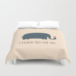 Cute Elephant Duvet Cover