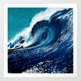 """Wave 2"" Art Print"