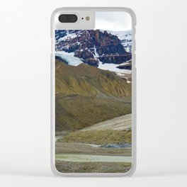 Athabasca Glacier in the Columbia Icefields, Jasper National Park Clear iPhone Case