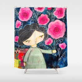 Quilted Princess Shower Curtain