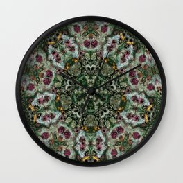 Multifacetted Kaleidoscope 7 Wall Clock