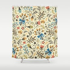 Floral Bloom Shower Curtain