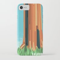california iPhone & iPod Cases featuring California by AtomicChild