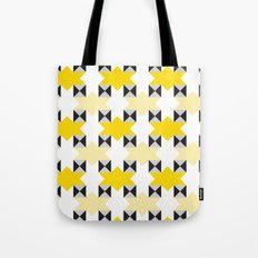 Yellow stars pattern Tote Bag