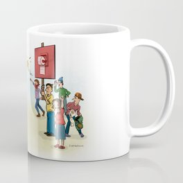 The Toilet Paper War Coffee Mug