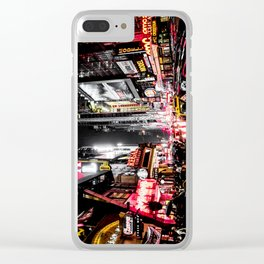 New York City Night II Clear iPhone Case