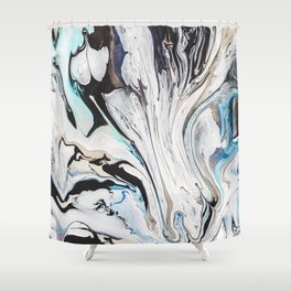 Fluid V.1 Shower Curtain