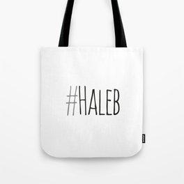 #haleb Tote Bag
