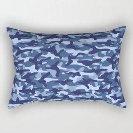 Water Camouflage Rectangular Pillow