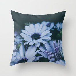 Flower Photography by Echo Grid Throw Pillow