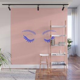 Betty Gone Batty (Millennial Pink Edition) Wall Mural