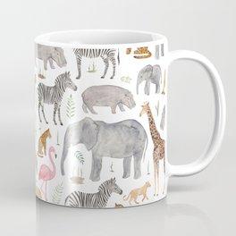 Safari Animals Coffee Mug