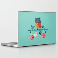 marina and the diamonds Laptop & iPad Skins featuring WOOHOO IT'S CHRISTMAS! by Daisy Beatrice