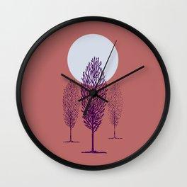 Alberi toscani Wall Clock