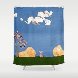 Joyful Self Shower Curtain