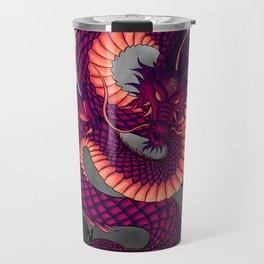 Halloween Chinese Dragon Travel Mug