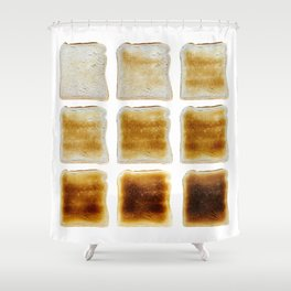 How Do You Like Your Toast Done Shower Curtain
