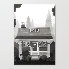 Places I've Lived Series - 4 Canvas Print