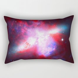 Space. In Color. Rectangular Pillow