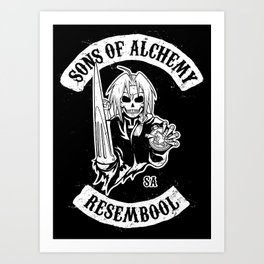 Sons of Alchemy Art Print