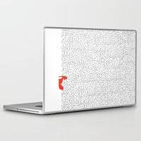 grass Laptop & iPad Skins featuring Black grass by Robert Farkas