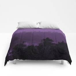 Purple Fog Comforters